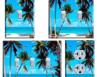 Palm TreeLight Switch Plate Cover Home Decor BTropical