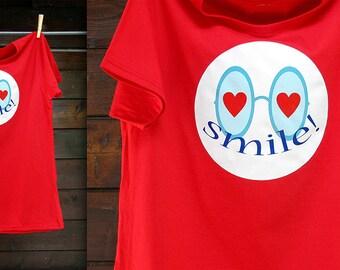T-shirt SMILE! -LOVE & VALENTINE