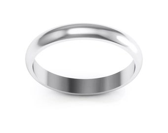 Stainless Steel 4mm Ring Band. Free Engraving Included.