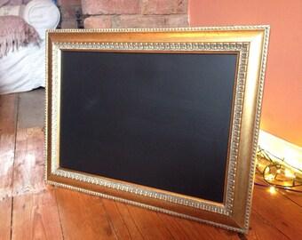 Antique Gold Chalkboard vintage chalkboard old blackboard