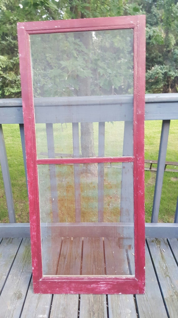 window screen frame wood screen window frame two pane diy country rustic 29219