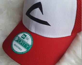 Pokemon Ash Ketchum Baseball Hat/ Cosplay Hat/ Pokemon Go Essential