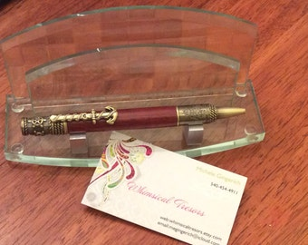 Antique Brass Oceania Pen