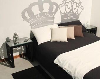 REAL-KING & QUEEN bed headboard