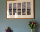 And There Was The Island. Multipart Collagraph Print 1/1