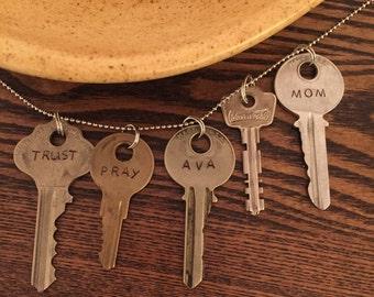 Modern Key - personalized