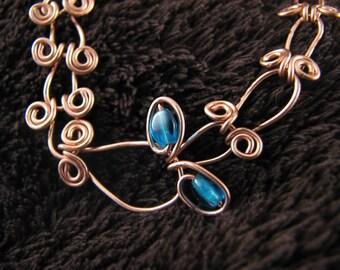 Copper Wirecraft Bracelet