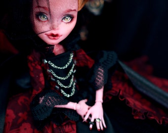 OOAK  Vintage  Gigi Grant Monster High doll repaint custom