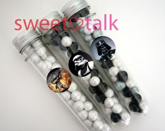 STAR WARS Party Favour - Candy Test Tube with Chocolates. Perfect for Birthday Party Loot Bags