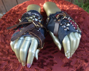 Gypsy Pirate Edwardian Punk Gloves