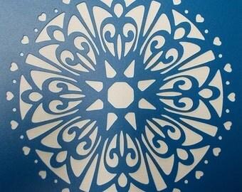 Doily Stencil 01