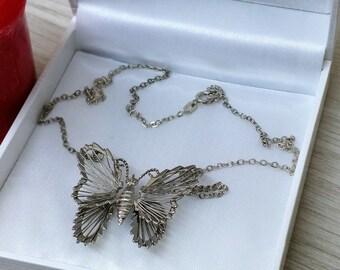 835 Butterfly Necklace Art Nouveau 1910 SK310