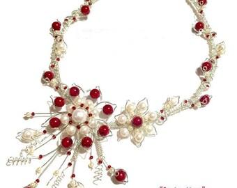 Springtime Floral Wire Necklace (Pendant or Bracelet) Tutorial PDF