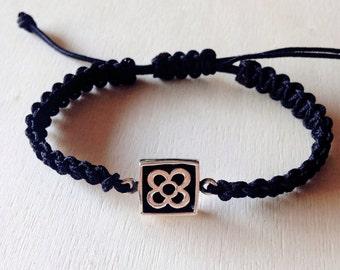 Panot Bracelet, Barcelona Bracelet, Silver bracelet, Barcelona symbol bracelet