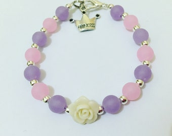 Flower & Princess Smoke Bracelet