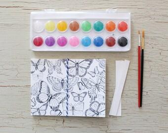DIY Watercolour Postcards Kit