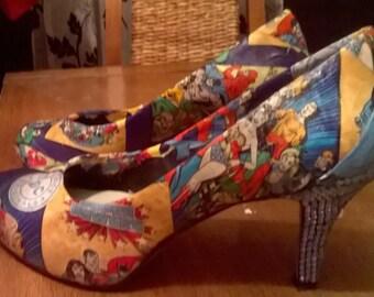 DC Comics Fabric Shoes