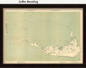 Nantucket Map - 1891