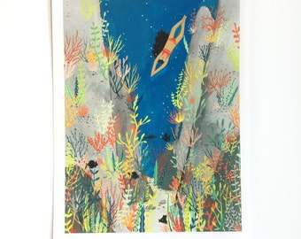 Keep Swimming Print
