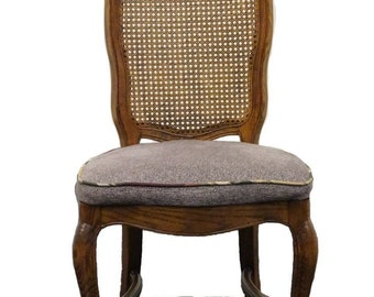 CENTURY FURNITURE Chermont Collection Country French Cane Back Side Chair