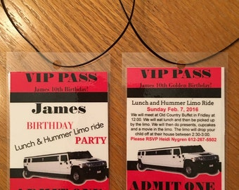 VIP Pass Invitations (12)