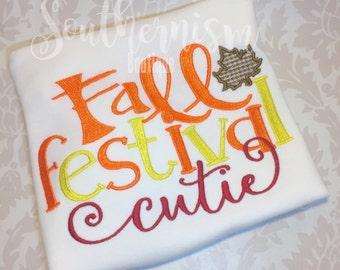 Fall Festival Shirt, Pumpkin Patch shirt, girls shirt, personalized, monogram fall, girls monogram fall, thanksgiving, first thanksgiving
