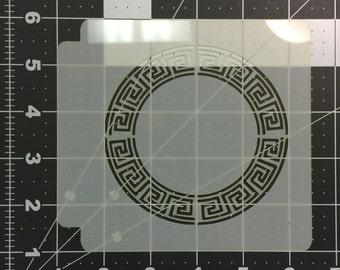 Greek Key Stencil 101