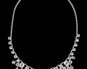 Art Deco Paste Necklace