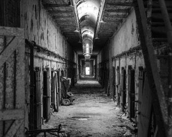 Eastern State Penitentiary Corridor.