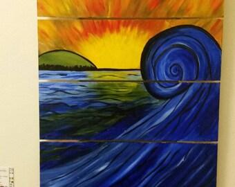 Blue Wave Item#B-WAVE1