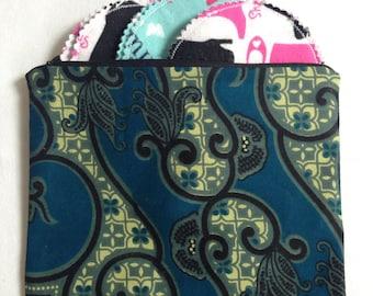 Wet bag - Nursing Bag - Zipper Pouch - Reusable Nursing Pads