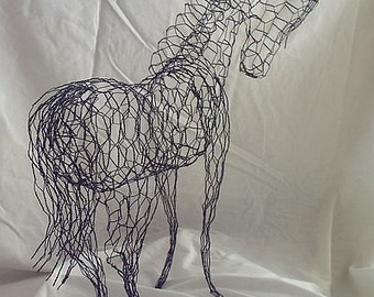 """Wire Horse """"Topiary Horse"""""""