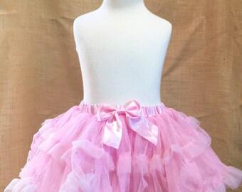 Beautiful baby girl tulle tutu skirt