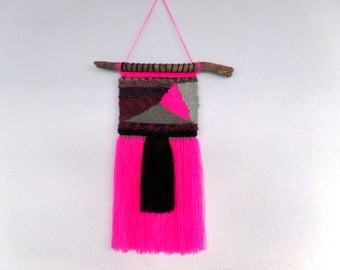 Woven wall hanging 15.8
