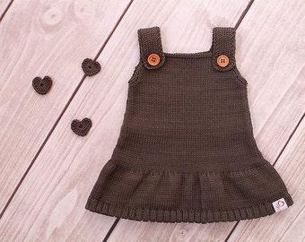 Baby dress knitting dress model Ella