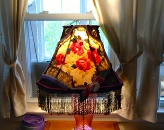 Victorian Style Large Lampshade