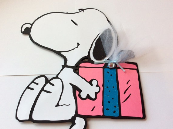 1ft snoopy centerpiecebirthday decorationsparty by lovetofiesta