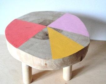 kids' birch stool 12'