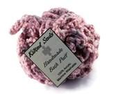 Pink bath poof, Pink bath puff, bath poof, bath pouf, loofah, scrubbie, shower poof, shower pouf, shower puff, crochet pouf, crochet loofah