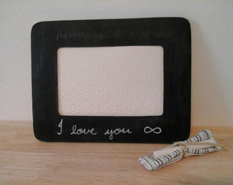 I Love you Infinity Picture Frame
