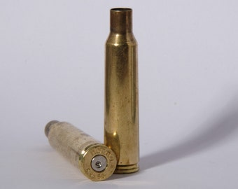 2 x 6,5x55 Brass Bullet Casings (White primer)