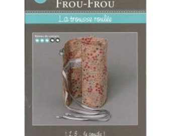 FCFF4 Kit rolled - FROU FROU - creative card - tutorial