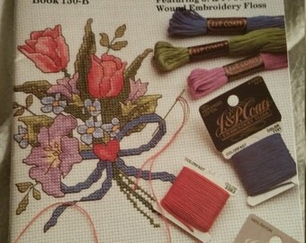 J & P Coats 100 Embroidery Stitches book
