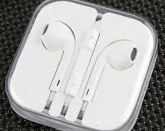 Headphones Earphones Headset Remote Mic Earbud For Apple iPhone 6 5 5S 5 4 4S,iPod +IPad