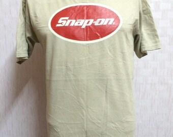 Vintage SNAP-ON Tshirt Medium Size