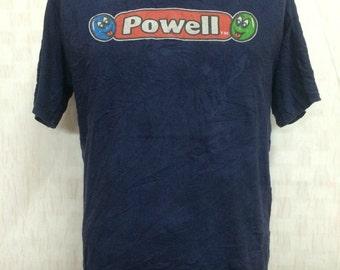 Vintage Early 90s POWELL Peralta Skate Tshirt