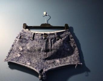 Women's Vintage Cut Offs Shorts Denim Co. Medium