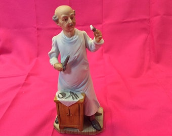 Lefton Porcelain Figurine-Surgeon