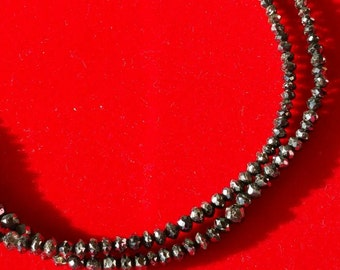 Rare!!!! Black diamonds bracelet