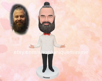Father's Day Gift for Dad First Father's Day Bobblehead doll for Husband Fathers Day Gift from Kids Gift from Son Father's Day from Daughter